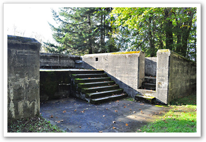 Gun Batteries at Fort Ward Park on Bainbridge Island
